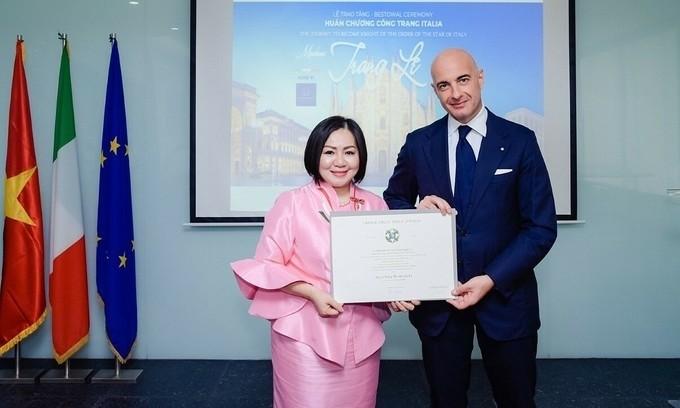 Vietnamese fashion designer appointed Italian culinary ambassador - ảnh 1