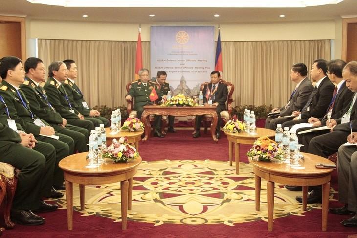 Khai mạc Hội nghị Quan chức Quốc phòng Cấp cao ASEAN - ảnh 1