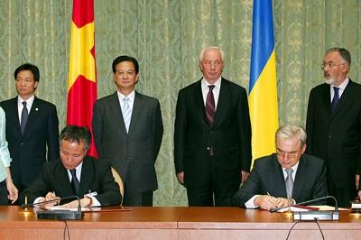 Tăng cường quan hệ Việt Nam - Ukraine - ảnh 1