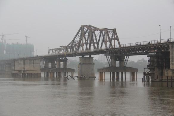 Cầu Long Biên qua tư liệu cũ của Pháp để lại - ảnh 1
