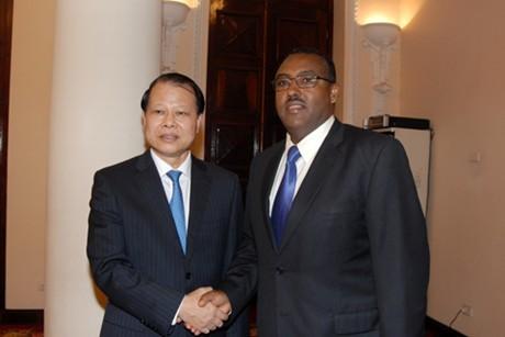 Phó thủ tướng Ê-ti-ô-pi-a thăm Việt Nam - ảnh 1