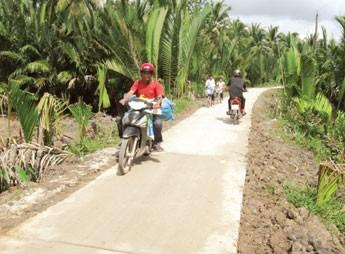 Đồng bào Khmer Trà Vinh với phong trào hiến đất xây dựng nông thôn mới - ảnh 1