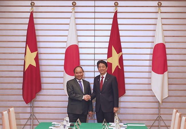 Việt Nam và Nhật Bản nhất trí tăng cường hợp tác trên nhiều lĩnh vực - ảnh 1