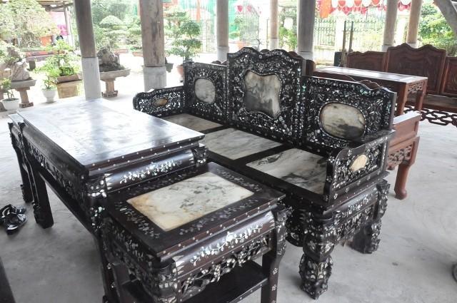 Về làng mộc Hải Minh, nơi sản xuất các sản phẩm theo phong cách cổ - ảnh 1