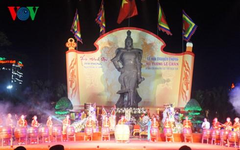 Khai hội Nữ tướng Lê Chân năm 2017 - ảnh 1