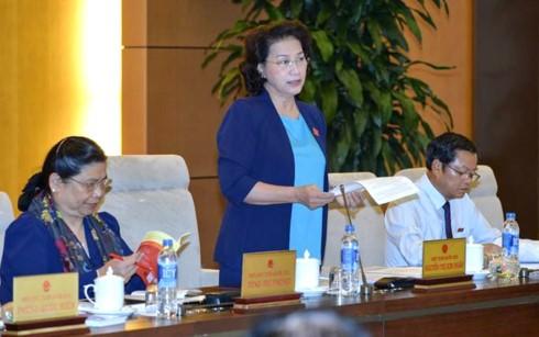 Khai mạc phiên họp thứ 10 Ủy ban Thường vụ Quốc hội - ảnh 1