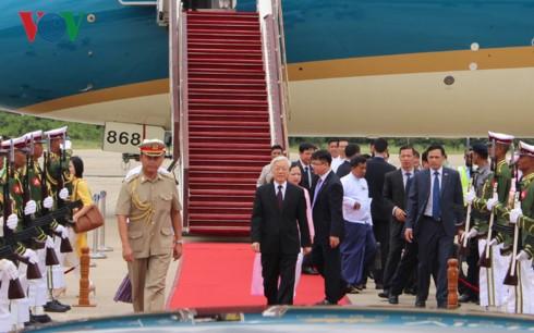 Chuyến thăm tạo xung lực mới cho quan hệ Việt Nam - Myanmar - ảnh 1