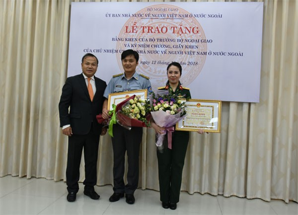 Khen thưởng tập thể, cá nhân có thành tích xuất sắc trong công tác về người Việt Nam ở nước ngoài  - ảnh 1