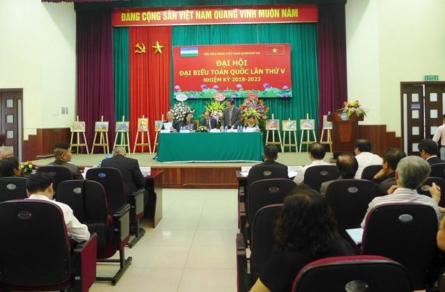 Hội hữu nghị Việt Nam – Uzbekistan tổ chức Đại hội đại biểu toàn quốc lần thứ V - ảnh 1