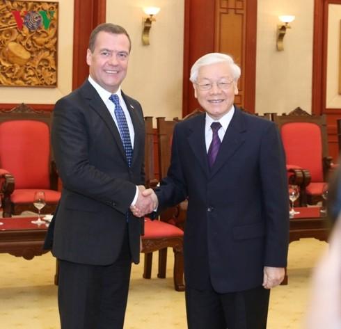 Việt Nam coi Nga là đối tác truyền thống hữu nghị, đối tác tin cậy - ảnh 1