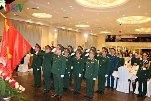 Cựu chiến binh tại Séc kỷ niệm ngày thành lập QĐND Việt Nam - ảnh 1