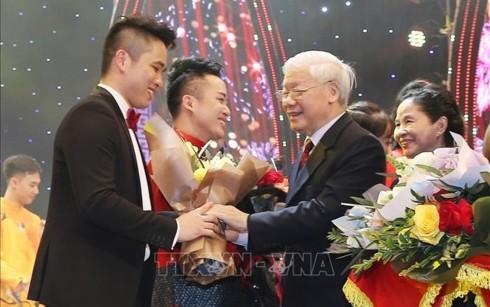 """Toàn văn phát biểu của Tổng bí thư, Chủ tịch nước tại """"Xuân Quê hương 2019"""" - ảnh 1"""