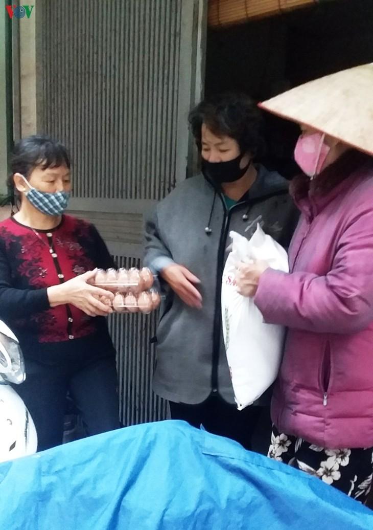 Thơm thảo những tấm lòng hỗ trợ người nghèo vượt qua đại dịch - ảnh 8