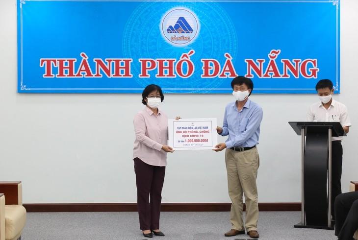 Thành phố Hà Nội, Tập đoàn Điện lực Việt Nam chung tay cùng Đà Nẵng vượt qua dịch bệnh - ảnh 1