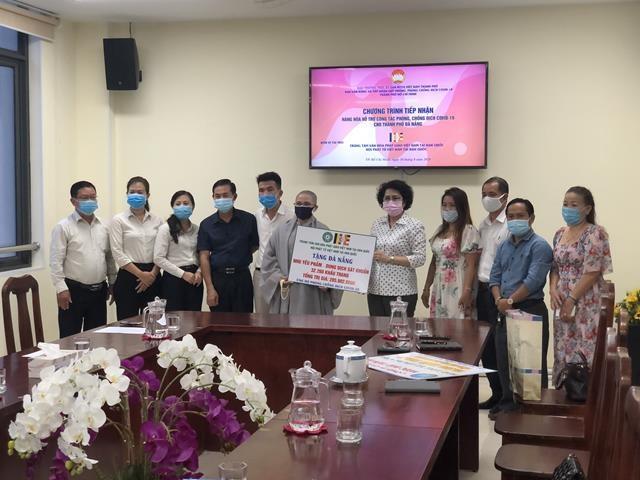 Hội Phật tử Việt Nam tại Hàn Quốc hỗ trợ Đà Nẵng trong dịch Covid-19 - ảnh 1