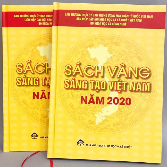 Lễ công bố Sách vàng sáng tạo Việt Nam năm 2020 - ảnh 1