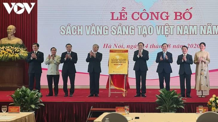 Lễ công bố Sách vàng sáng tạo Việt Nam năm 2020 - ảnh 2