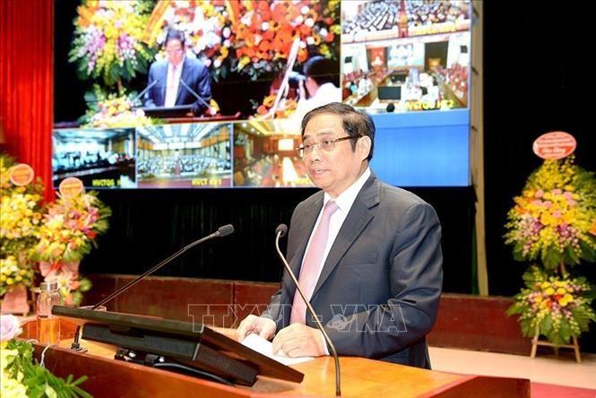 Lễ khai giảng Học viện Chính trị Quốc gia Hồ Chí Minh - ảnh 1