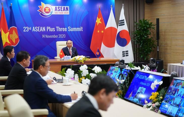 Trung Quốc, Nhật Bản, Hàn Quốc coi trọng vai trò trung tâm của ASEAN - ảnh 4