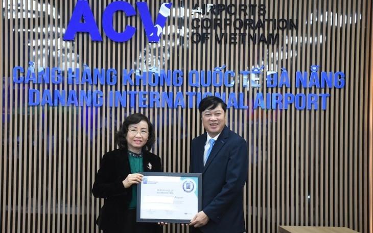 Cảng Hàng không quốc tế Đà Nẵng được cấp chứng nhận Kiểm chuẩn y tế sân bay - ảnh 1