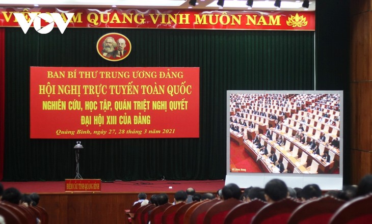 Đảng viên hào hứng nghe quán triệt trực tiếp Nghị quyết Đại hội XIII - ảnh 4