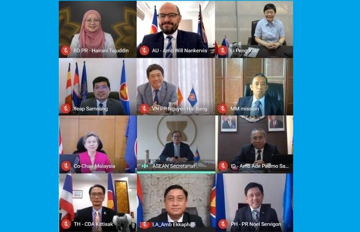 Australia ủng hộ vai trò trung tâm của ASEAN trong duy trì hòa bình khu vực - ảnh 1