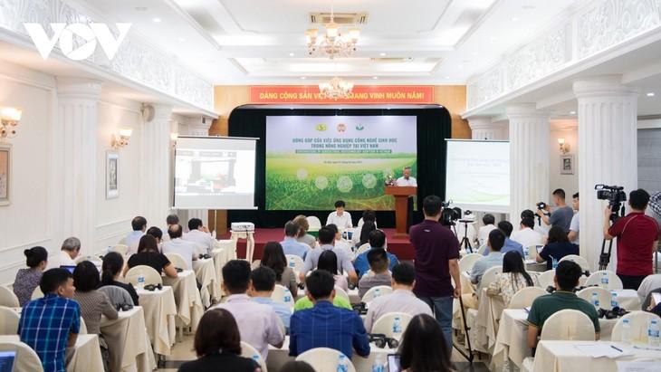 Ứng dụng công nghệ sinh học trong nông nghiệp tại Việt Nam - ảnh 1