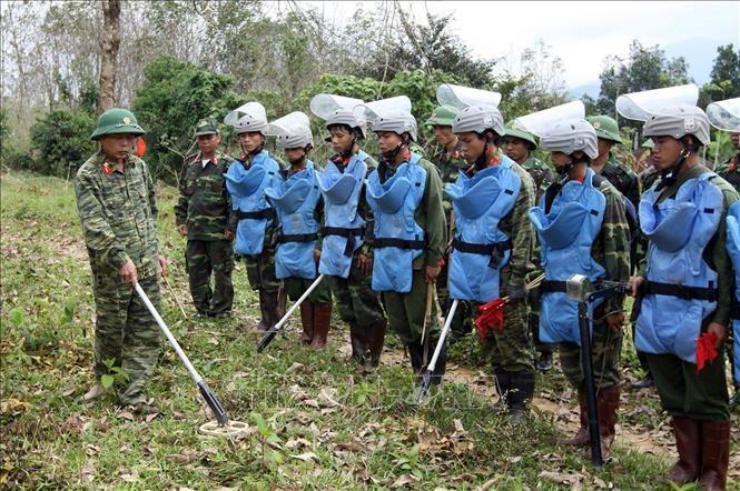 Việt Nam nỗ lực cùng cộng đồng quốc tế khắc phục hậu quả bom mìn - ảnh 1