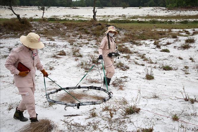 Việt Nam nỗ lực cùng cộng đồng quốc tế khắc phục hậu quả bom mìn - ảnh 3