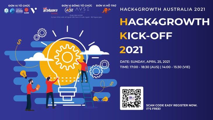 Hack4Growth Kick-off 2021-Thúc đẩy các dự án đổi mới sáng tạo tại Việt Nam - ảnh 1