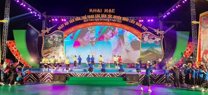 Khai mạc Ngày hội Văn hóa Thể thao các dân tộc huyện Bình Liêu - ảnh 1