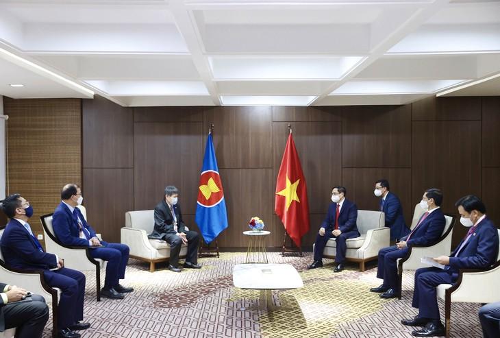 Thủ tướng Chính phủ Phạm Minh Chính tiếp Tổng Thư ký ASEAN - ảnh 1