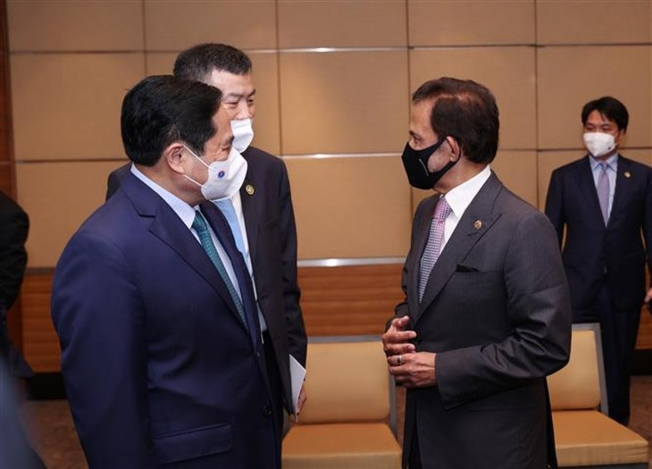 Nhìn lại chuyến công du nước ngoài đầu tiên của Thủ tướng Phạm Minh Chính - ảnh 11
