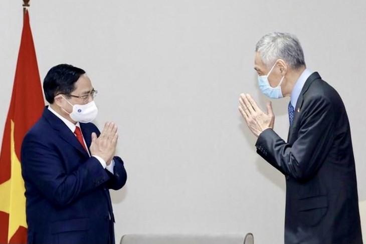 Nhìn lại chuyến công du nước ngoài đầu tiên của Thủ tướng Phạm Minh Chính - ảnh 14