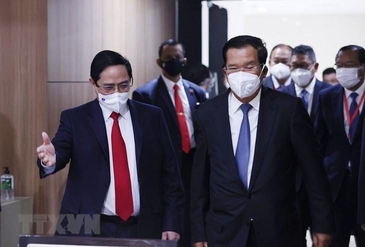 Nhìn lại chuyến công du nước ngoài đầu tiên của Thủ tướng Phạm Minh Chính - ảnh 18