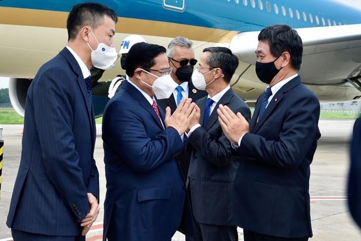 Nhìn lại chuyến công du nước ngoài đầu tiên của Thủ tướng Phạm Minh Chính - ảnh 2