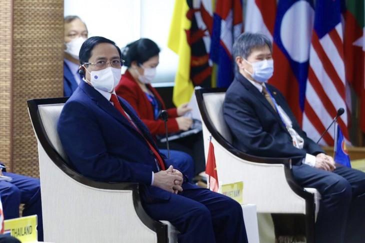 Nhìn lại chuyến công du nước ngoài đầu tiên của Thủ tướng Phạm Minh Chính - ảnh 21