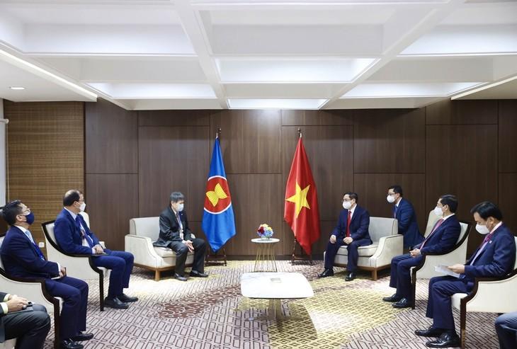 Nhìn lại chuyến công du nước ngoài đầu tiên của Thủ tướng Phạm Minh Chính - ảnh 24