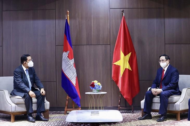 Nhìn lại chuyến công du nước ngoài đầu tiên của Thủ tướng Phạm Minh Chính - ảnh 19