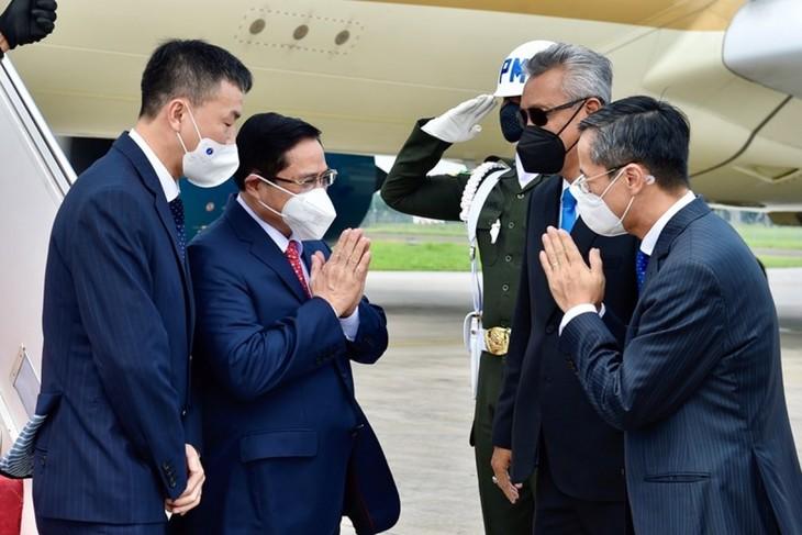 Nhìn lại chuyến công du nước ngoài đầu tiên của Thủ tướng Phạm Minh Chính - ảnh 3
