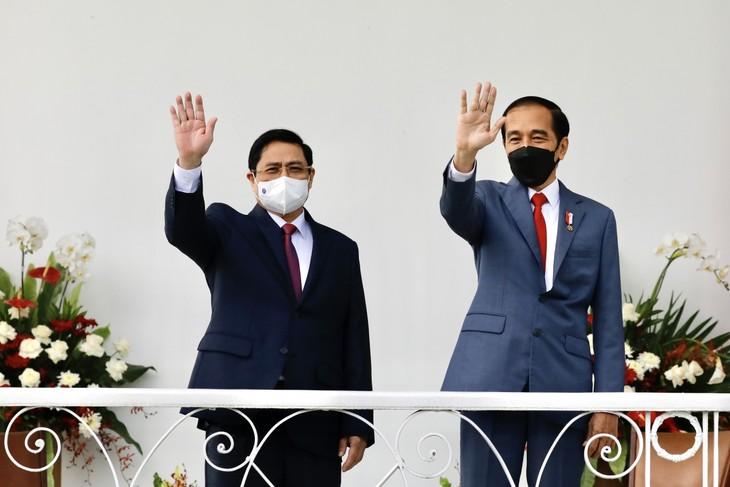 Nhìn lại chuyến công du nước ngoài đầu tiên của Thủ tướng Phạm Minh Chính - ảnh 5