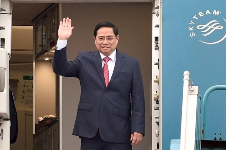 Nhìn lại chuyến công du nước ngoài đầu tiên của Thủ tướng Phạm Minh Chính - ảnh 1