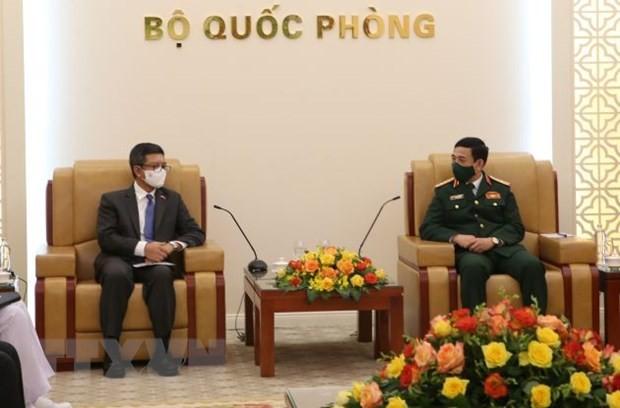 Tăng cường hợp tác quốc phòng Việt Nam - Indonesia - ảnh 1