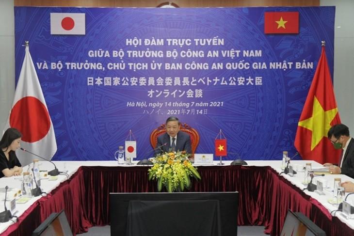 Tăng cường hợp tác giữa Bộ Công an Việt Nam và Ủy ban Công an Quốc gia Nhật Bản - ảnh 1