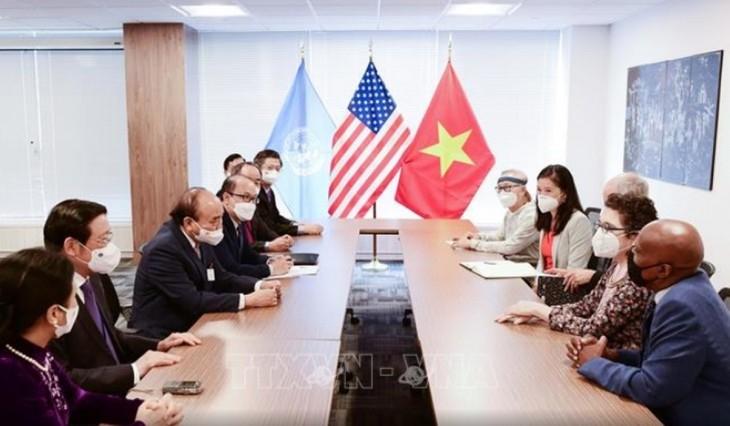 Việt Nam trân trọng sự ủng hỗ, giúp đỡ của bạn bè Hoa Kỳ - ảnh 1