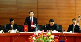 Bộ Nội vụ Lào thăm và làm việc tại tỉnh Lào Cai - ảnh 1