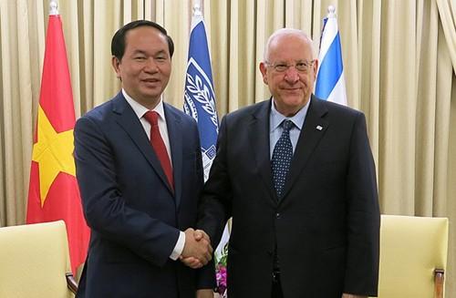 Bộ trưởng Trần Đại Quang thăm và làm việc tại Israel  - ảnh 1