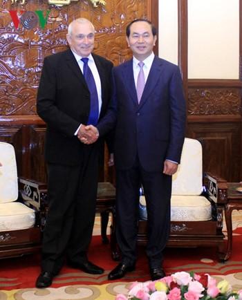 Chủ tịch nước Trần Đại Quang: Đẩy mạnh hợp tác công nghệ cao Việt Nam - Israel  - ảnh 1