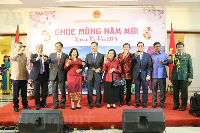 Vietnamese abroad celebrate Lunar New Year - ảnh 1