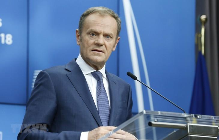 EC chief warns of anti-European forces meddling in Brexit vote - ảnh 1